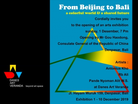 From Beijing to Bali art exhibition 1-10 Dec 2019