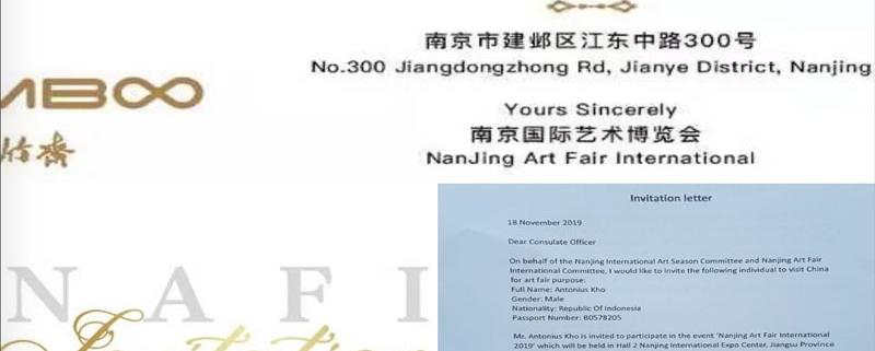 NanJing Art Fair International - Antonius Kho Exhibtion 2019